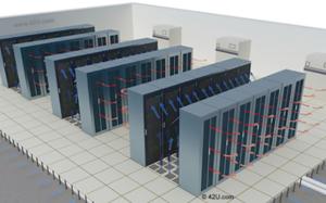 Køling af serverrum rack